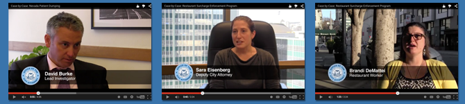 """Case-by-Case"" is a periodic online video series produced by the S.F. City Attorney's Office."
