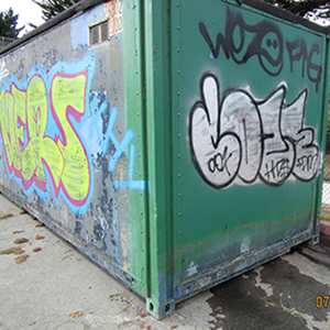 "Terry Cozy's eponymous ""Coze"" tag caused thousands of dollars of public property damage in San Francisco."