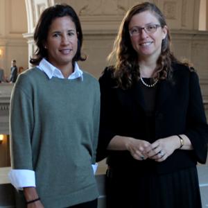 Deputy City Attorneys Audrey Williams Pearson and Andrea Ruiz-Esquide lead the T-line loop case.