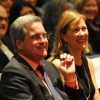 City Attorney Dennis Herrera, with his wife Anne Herrera, at his swearing-in event on Jan. 8, 2016. The City Attorney vows to continue making the fight against global climate change a priority.