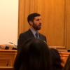 Deputy City Attorney Joshua White, pictured earlier this year at the City Attorney's Ethics Training Program, argued for the City and County of San Francisco.