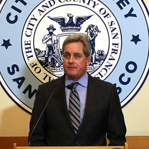 """City Attorney Dennis Herrera calls the Fair Housing Act """"one of the most critical pieces of legislation"""" for cities to address discriminatory lending practices."""